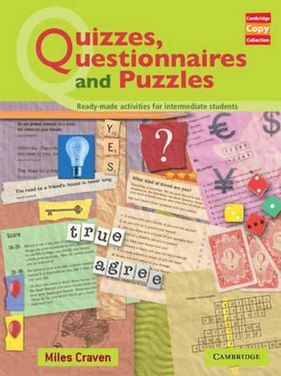 Quizzes, Questionnaires and Puzzles