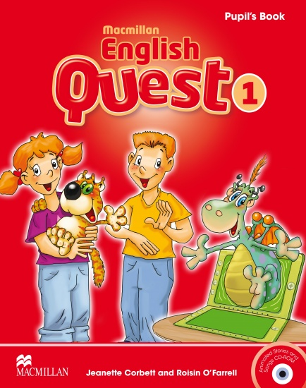 Macmillan English Quest 1 Pupil´s Book Pack