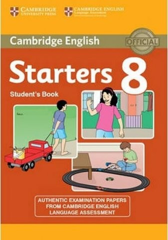 Cambridge Young Learners English Tests, 2nd Ed. Starters 8 Student´s Book