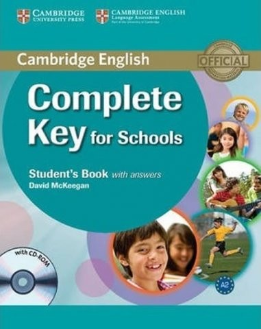 Complete Key for Schools Student´s Book with answers with CD-ROM