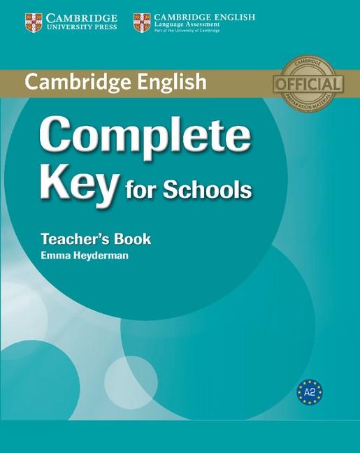 Complete Key for Schools Teacher´s Book