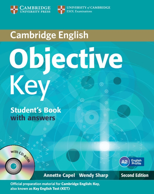 Objective Key 2nd Edition Student´s Book with answers with CD-ROM