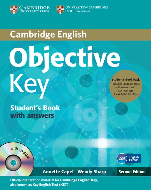 Objective Key 2nd Edition Student´s Book Pack (Student´s Book with answers with CD-ROM and Class Audio CDs(2)) : 9781107668935