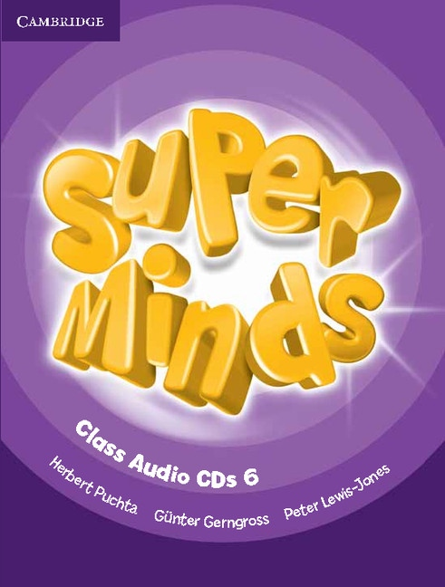 Super Minds 6 Class CDs (3)