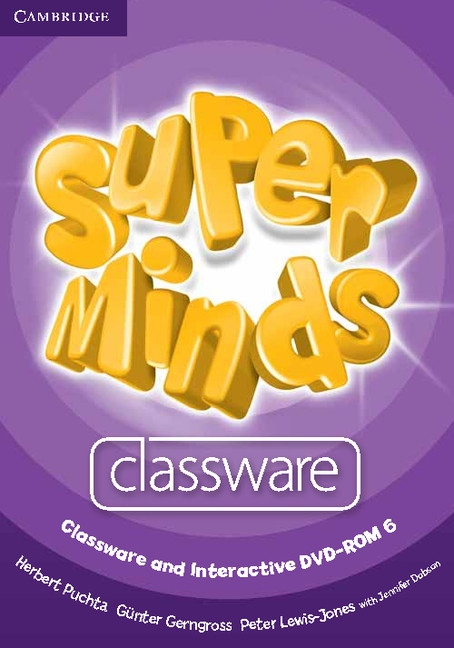 Super Minds 6 Classware CD-ROM