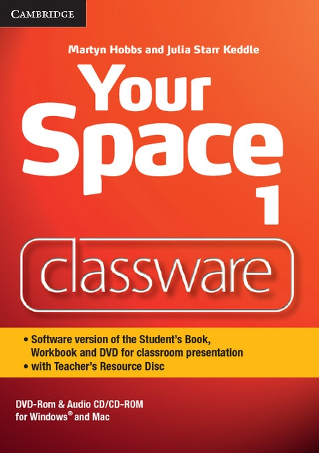 Your Space 1 Classware DVD-ROM with Teacher´s Resource Disc : 9781107673106