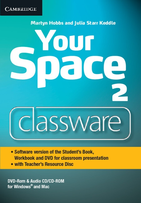 Your Space 2 Classware DVD-ROM with Teacher´s Resource Disc : 9781107635425