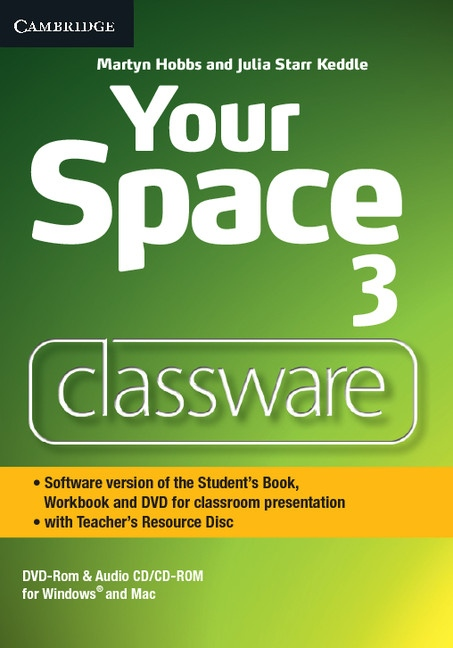 Your Space 3 Classware DVD-ROM with Teacher´s Resource Disc : 9781107660748