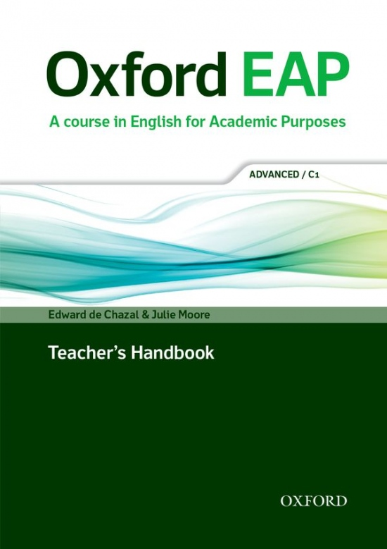 Oxford EAP (English for Academic Purposes) C1 Teacher´s Book with DVD-ROM : 9780194001823