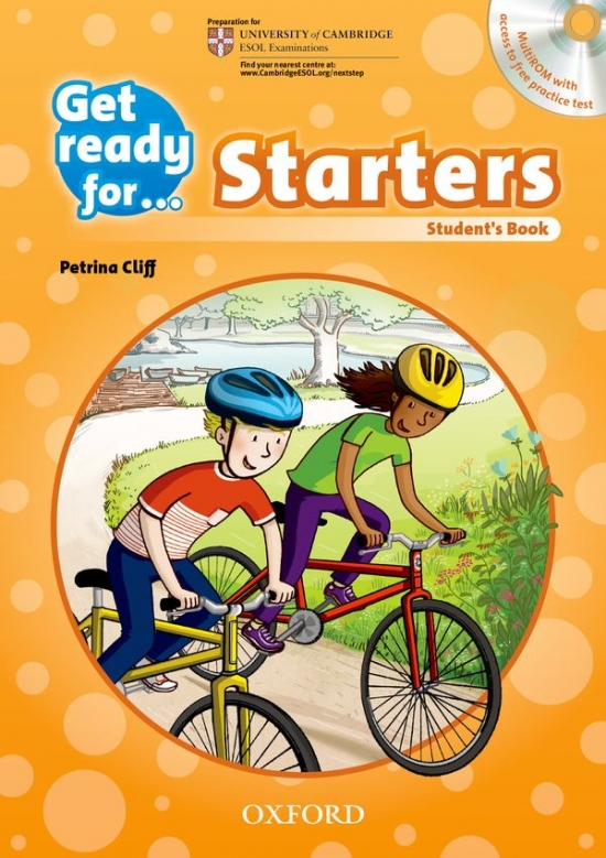 Get Ready for Starters: Student´s Book with Audio CD : 9780194003261