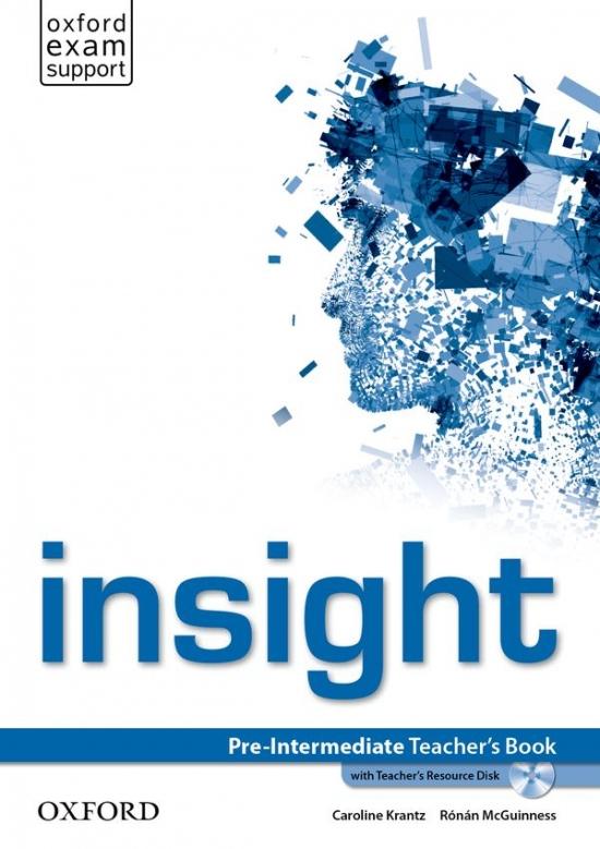 Insight Pre-Intermediate Teacher´s Book and Teacher´s Resource MultiROM Pack