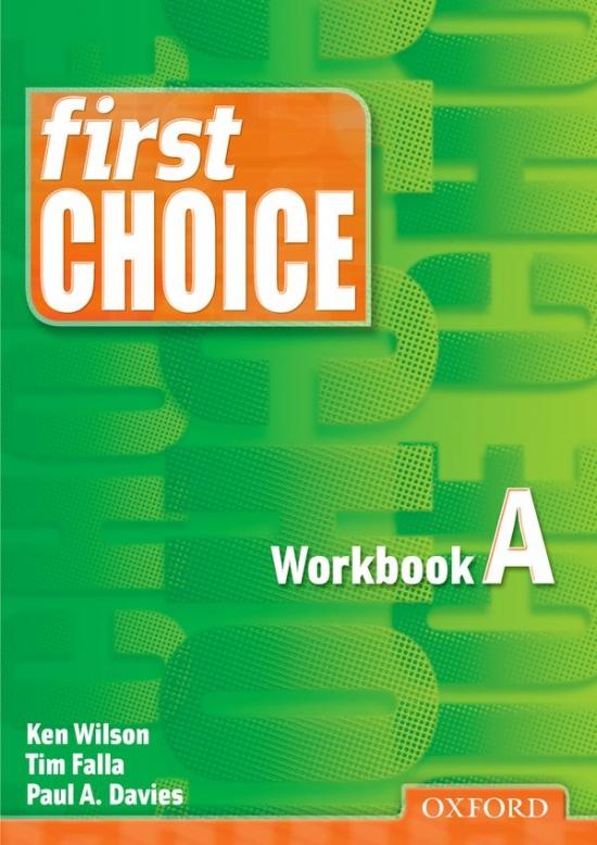First Choice Workbook A : 9780194302647