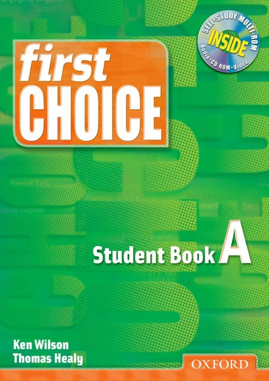First Choice Student´s Book A with MultiROM pack : 9780194305761