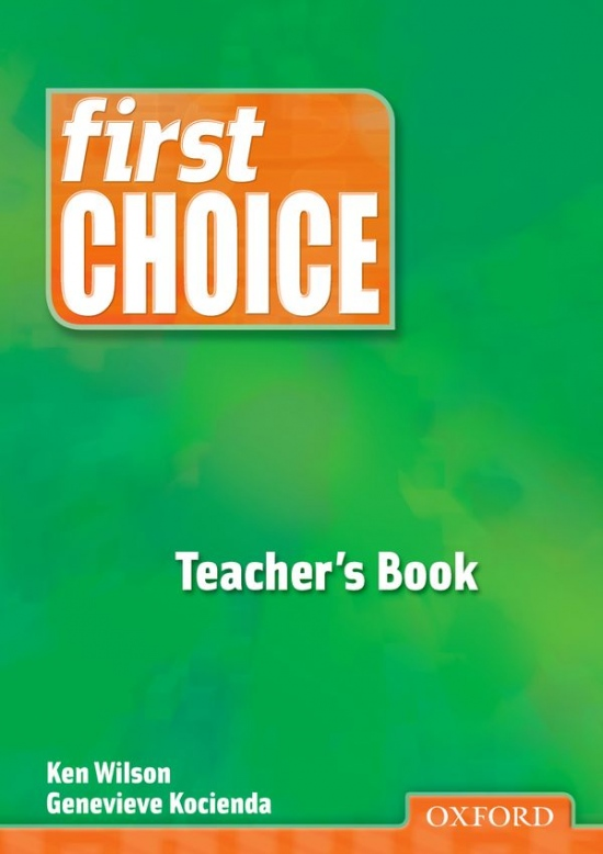First Choice Teacher´s Book
