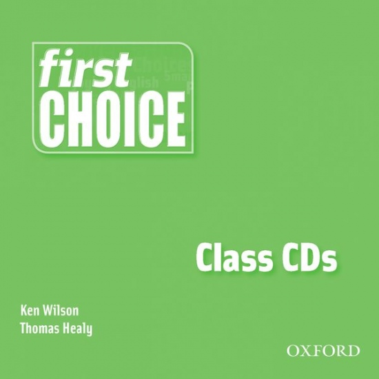 First Choice Class Audio CDs (2) : 9780194306263