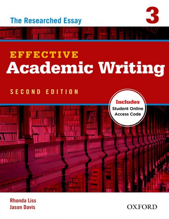 Effective Academic Writing 3 (2nd Edition) Student´s Book with Online Access Code