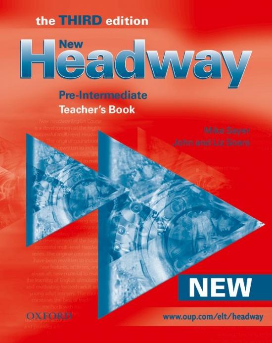 New Headway Pre-Intermediate Third Edition (new ed.) TEACHER´S BOOK
