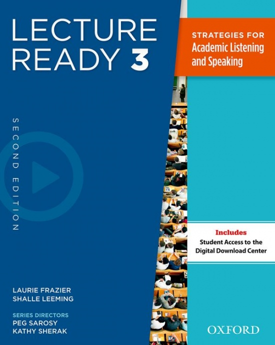 Lecture Ready 3 (2nd Edition) Student´s Book Pack