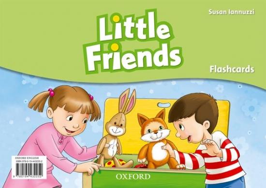 Little Friends Flashcards : 9780194432252