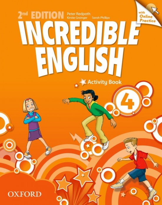 Incredible English 4 (New Edition) Activity Book with Online Practice : 9780194442886