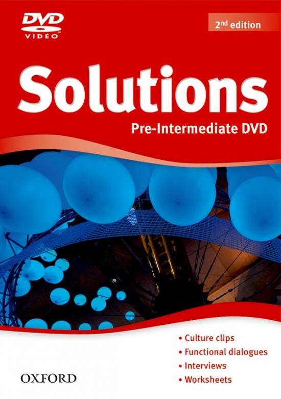 Maturita Solutions (2nd Edition) Pre-Intermediate DVD
