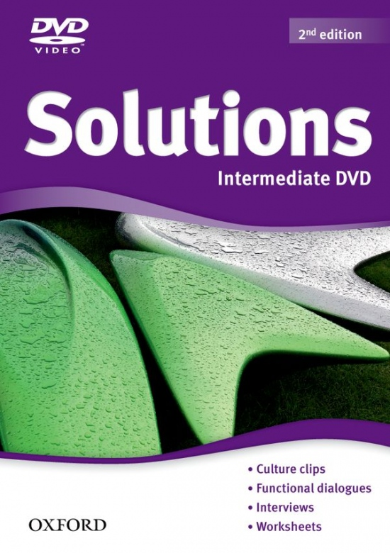 Maturita Solutions (2nd Edition) Intermediate DVD : 9780194552752