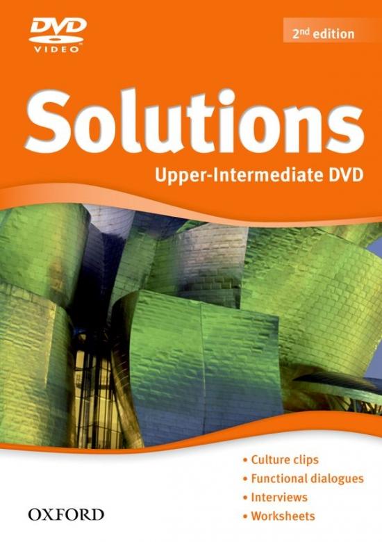 Maturita Solutions (2nd Edition) Upper-Intermediate DVD