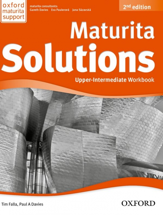 Maturita Solutions (2nd Edition) Upper-Intermediate Workbook CZ