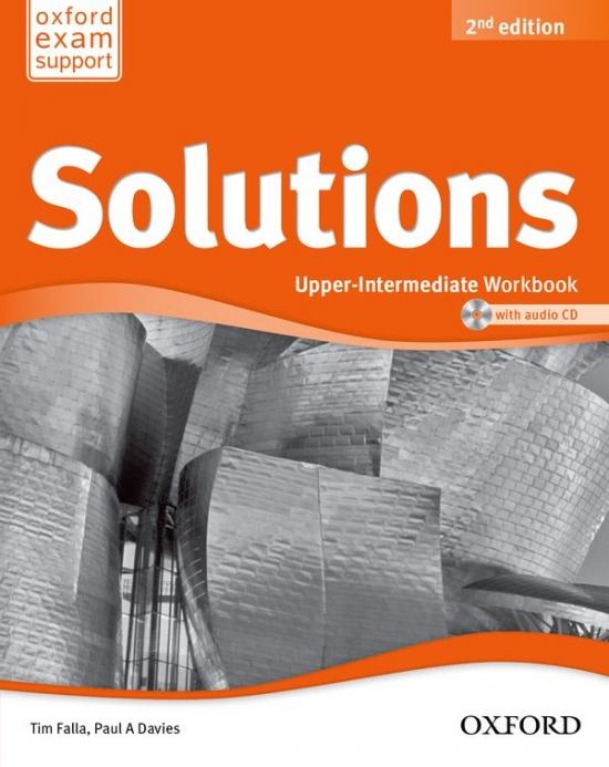 Maturita Solutions (2nd Edition) Upper-Intermediate Workbook with Workbook CD ( International English Edition)
