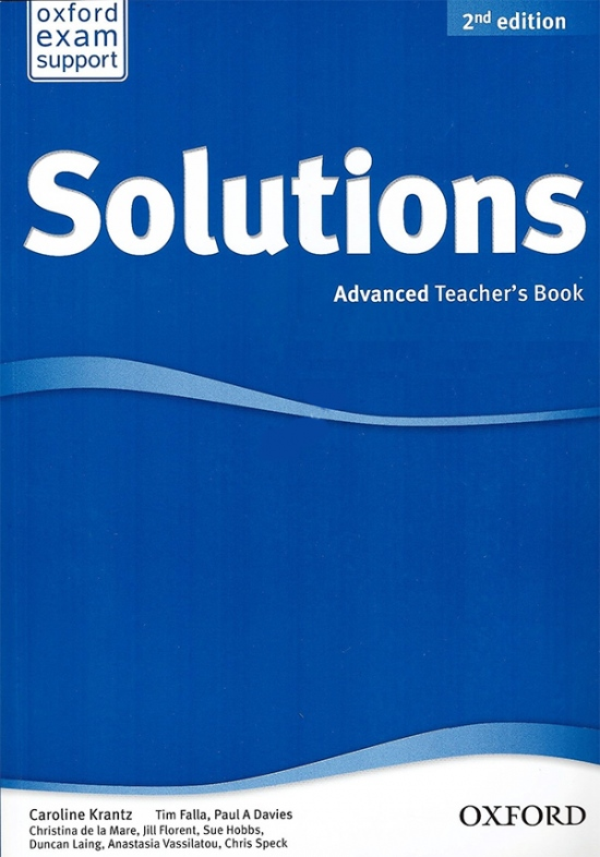 Maturita Solutions (2nd Edition) Advanced Teacher´s Book