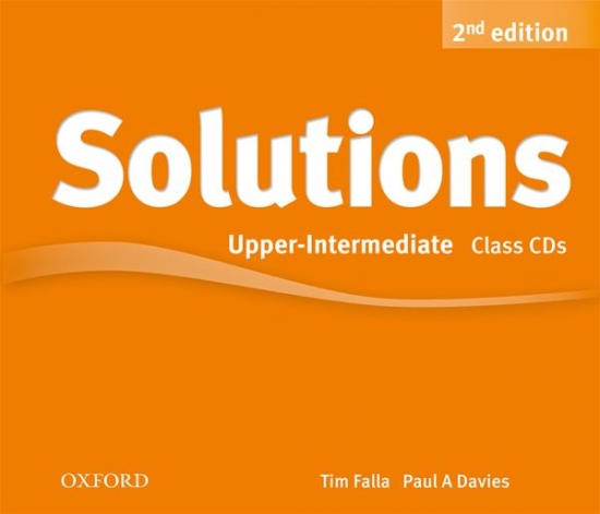 Maturita Solutions (2nd Edition) Upper-Intermediate Class Audio CDs (4) : 9780194554268