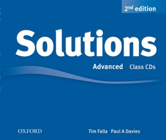 Maturita Solutions (2nd Edition) Advanced Class Audio CDs (4)