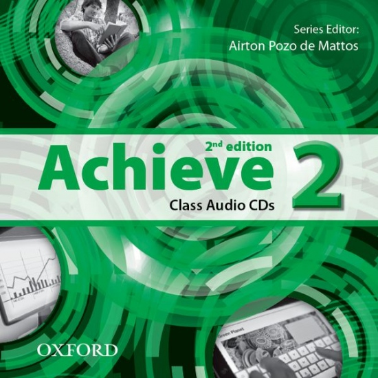 Achieve 2 (2nd Edition) Class CD (2) : 9780194556330