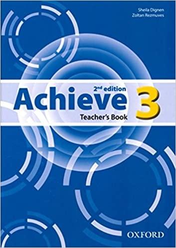 Achieve 3 (2nd Edition) Teacher´s Book