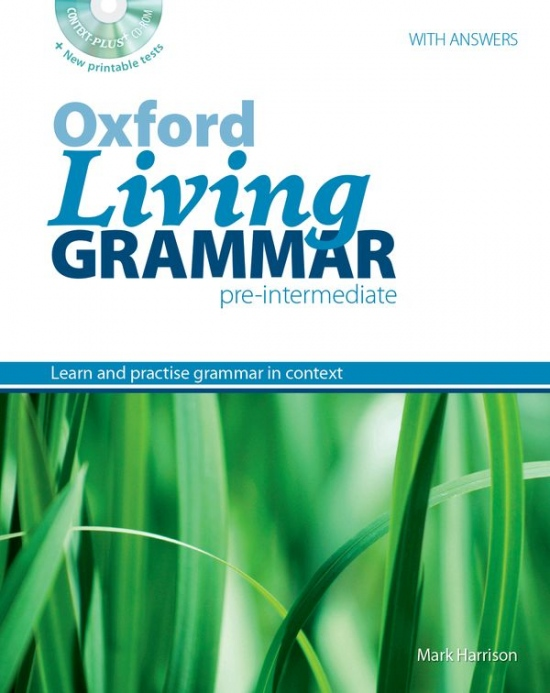 Oxford Living Grammar Pre-Intermediate Student´s Book with CD-ROM (Ken Paterson)