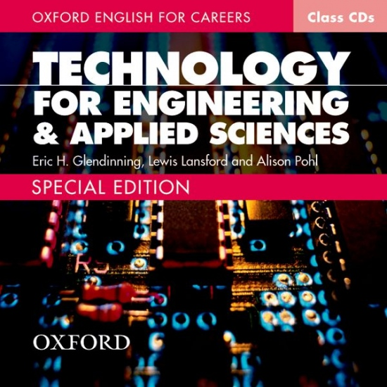 OXFORD ENGLISH FOR CAREERS: TECHNOLOGY FOR ENGINEERING & APPLIED SCIENCES CLASS AUDIO CDs /2/ : 9780194569736