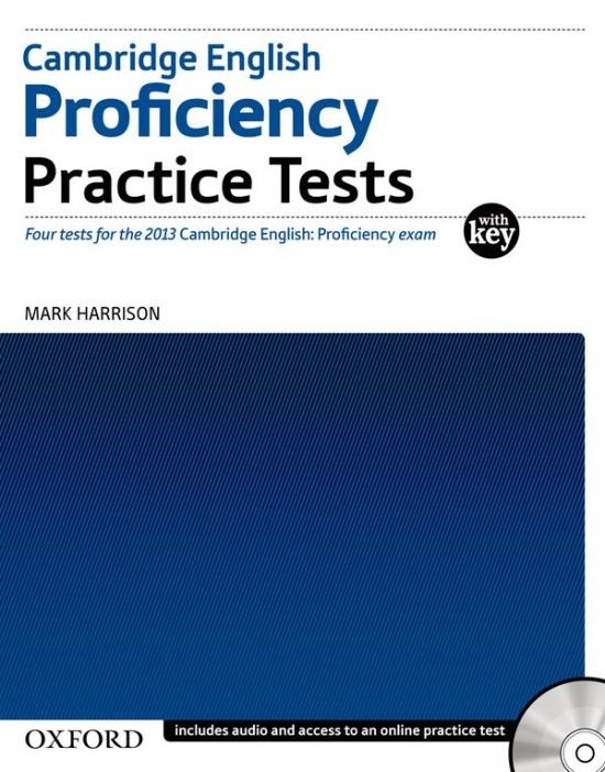 Cambridge English Proficiency Practice Tests with Key & Audio CDs (2) & Online Test : 9780194577366
