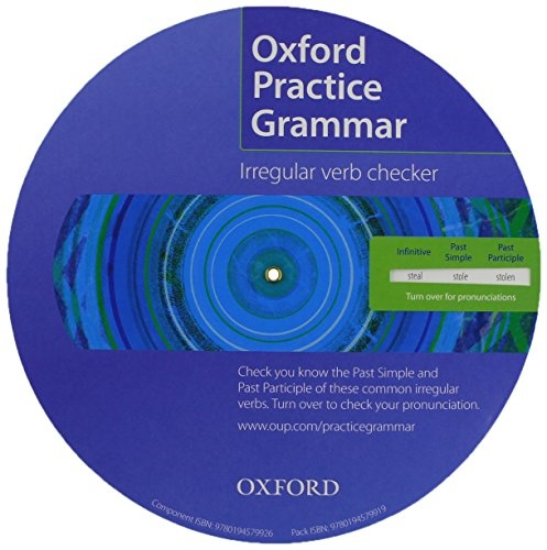 Oxford Practice Grammar Irregular Verb Spinner / Wheel (Pack of 25) : 9780194579919