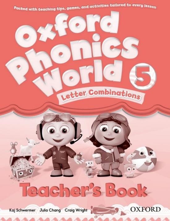 Oxford Phonics World 5 Teacher´s Book : 9780194596329