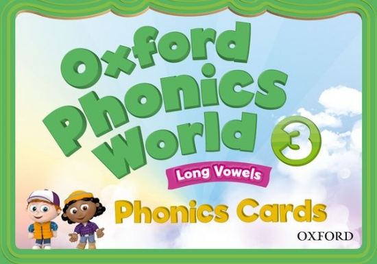 Oxford Phonics World 3 Phonics Cards : 9780194596350