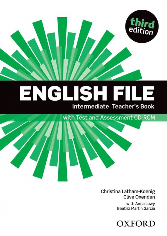 English File Intermediate (3rd Edition) Teacher´s Book with Test and Assessment CD-ROM : 9780194597173