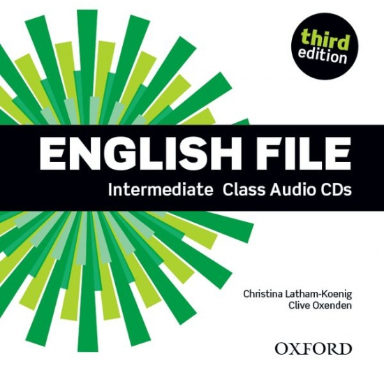 English File Intermediate (3rd Edition) Class Audio CDs (4)