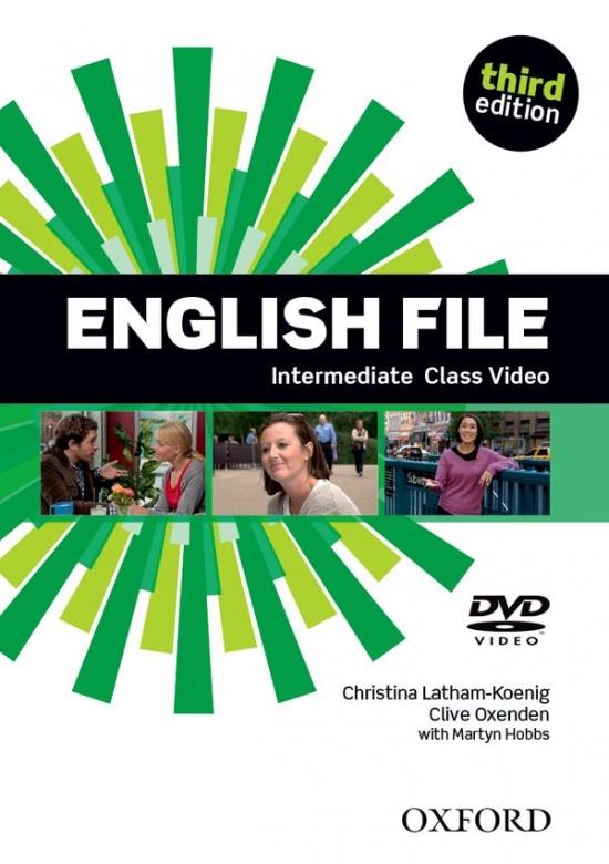 English File Intermediate (3rd Edition) Class DVD