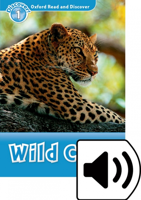 Oxford Read and Discover 1 Wild Cats Audio Mp3 Pack