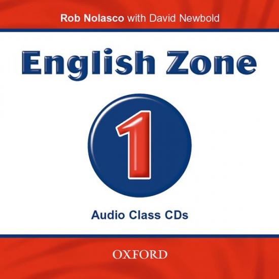 ENGLISH ZONE 1 CLASS AUDIO CD : 9780194618045