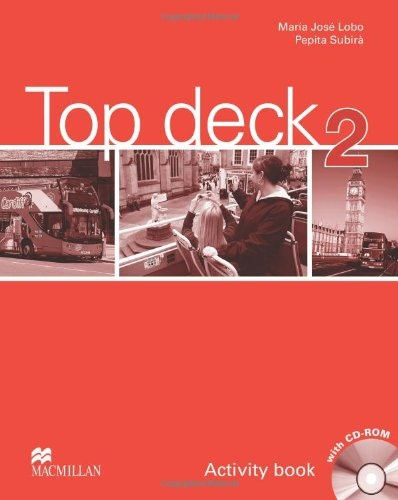 Top Deck 2 Activity Book with Pupil´s CD-ROM : 9780230422537