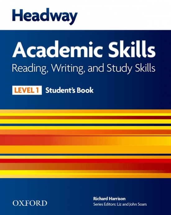 Headway Academic Skills 1 Reading, Writing and Study Skills Student´s Book with Online Practice : 9780194742160