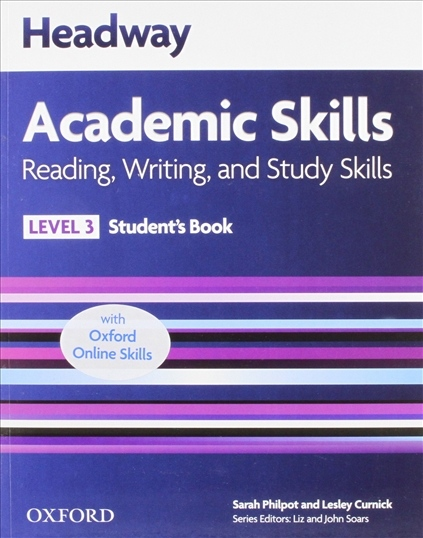Headway Academic Skills 3 Reading, Writing and Study Skills Student´s Book with Online Practice : 9780194742184