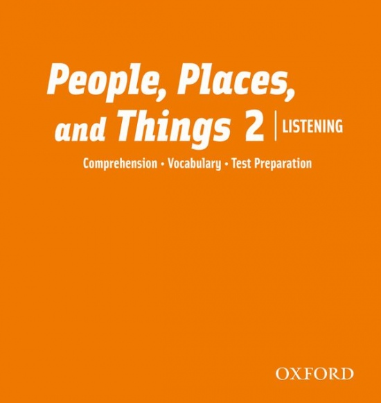 People, Places, and Things Listening 2 Audio CDs (2)