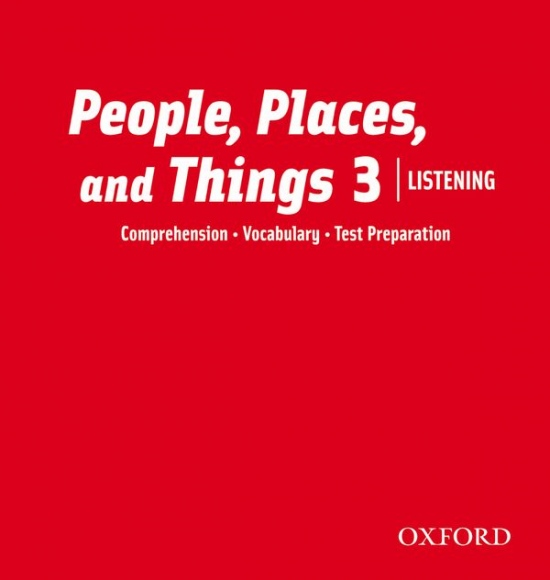 People, Places, and Things Listening 3 Audio CDs (2)